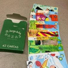 Jeux de cartes: BARAJA DE CARTAS INFANTILES EL JUEGO DE LA RAZAS. Lote 232443795