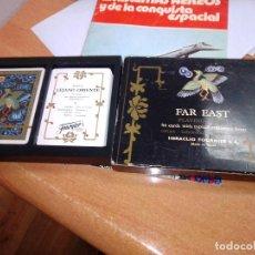 Barajas de cartas: DOBLE BARAJA LEJANO ORIENTE. FAR EAST PLAYING CARDS. HERACLIO FOURNIER. Lote 233130630
