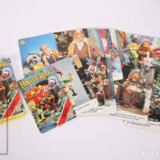 Jeux de cartes: BARAJA INFANTIL DE CARTAS / NAIPES - FRAGGLE ROCK / 33 CARTAS - H. FOURNIER, 1984 - COMPLETA. Lote 233531275