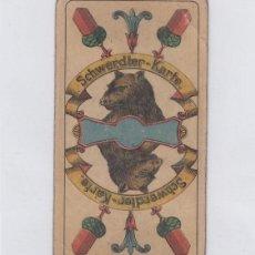 Barajas de cartas: ALEMANIA. RUNPF KARTEN. SCHWERDTER-KARTE. BARAJA DE 32 CARTAS. PRINCIPIOS DE SIGLO XX. ORIGINAL.. Lote 233660005