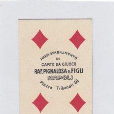 Barajas de cartas: BARAJA DE CARTAS INCOMPLETA ( 36 CARTAS DE 40 ). RAF. PIGNALOSA. NAPOLI. NAPOLES. AÑOS 40S.?.. Lote 233735855