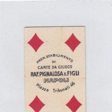 Barajas de cartas: BARAJA DE 40 CARTAS ( COMPLETA ). RAF. PIGNALOSA. NAPOLI. NAPOLES. AÑOS 40S.?.. Lote 233741770