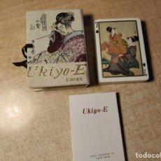 Jeux de cartes: UKIYO-E. BARAJA DE CARTAS CON MOTIVOS JAPONESES. REGALO DE SANYO. TOKYO. JAPÓN. PRECINTADA.. Lote 233743760