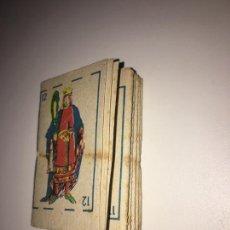 Barajas de cartas: BARAJA DE CARTAS DE CARTON - KIOSKO AÑOS 70´S. Lote 233872200