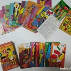 Barajas de cartas: 2 BARAJAS ANTIGUAS DE CARTAS INFANTILES FOURNIER EPI Y BLAS (LEER DESCRIPCIÓN). Lote 234033340