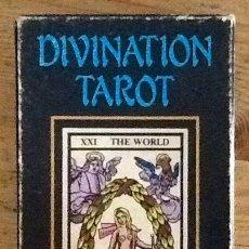 Barajas de cartas: DIVINATION TAROT - REPRODUCCIÓN DE UN TAROT DEL S. XVIII. 78 CARTAS. COMPLETO. Lote 234279435