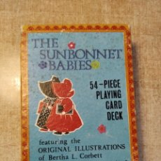 Barajas de cartas: THE SUNBONNET BABIES. BARAJA DE 54 CARTAS. MERRIMACK PUBL. CORP. NEW YORK.. Lote 234304440
