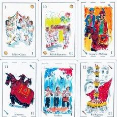 Mazzi di carte: BARAJA ESPAÑOLA DE LA FESTA MAJOR DE VILANOVA Y LA GELTRU. Lote 234325790