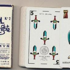 Jeux de cartes: BARAJA NAIPE ESPAÑOL POR MINGOTE. N.º 2. 50 CARTAS. HERACLIO FOURNIER 1969. Lote 234432035