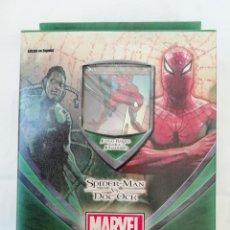Barajas de cartas: BARAJA NUEVA MARVEL TRADING CARD GAME - SPIDERMAN VS DOC OCK - PRECINTADA. Lote 234487860