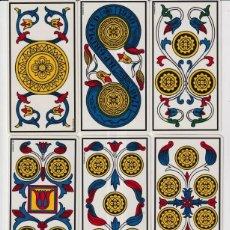 Barajas de cartas: ANCIEN TAROT DE MARSEILLE. CARTOMANCIE GRIMAUD. CON ESTUCHE,INSTRUCCIONES. 56 CARTAS. FOTOS ADJUNTAS. Lote 234574705