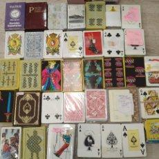 Jeux de cartes: LOTE DE 37 BARAJAS VARIADAS, CASI LA MITAD DE POKER.. Lote 234588945