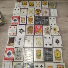 Jeux de cartes: LOTE CON UN CENTENAR DE BARAJAS VARIADAS, INCLUYE PUBLICITARIAS.. Lote 234589160
