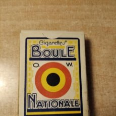 Barajas de cartas: CIGARETTES BOULE NATIONALE. BARAJA DE 52 CARTAS PUBLICITARIAS. TABACO.BELGICA. AÑOS 30S.. Lote 234758610
