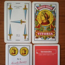 Barajas de cartas: BARAJA NAIPE ESPAÑOL TERMEULEN. HERACLIO FOURNIER.. Lote 234824280