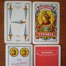 Barajas de cartas: BARAJA NAIPE ESPAÑOL TERMEULEN. HERACLIO FOURNIER.. Lote 234825005