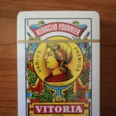 Barajas de cartas: BARAJA NAIPE ESPAÑOL. HERACLIO FOURNIER. N.º 27 PRECINTADA. EN CAJA DE PLÁSTICO USADA. Lote 234825170