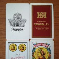 Barajas de cartas: BARAJA NAIPE ESPAÑOL. HERACLIO FOURNIER. N.º1 HORMIGONES SEGARIA SL. VERGEL VALENCIA. Lote 234825720