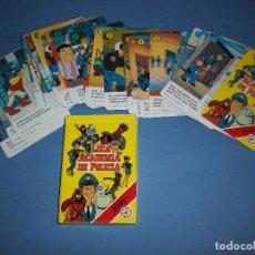 Barajas de cartas: BARAJA DE LA SERIE DE DIBUJOS LOCA ACADEMIA DE POLICIA. Lote 235114120