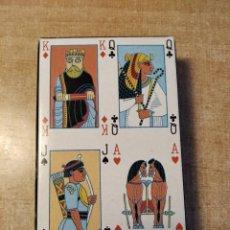 Barajas de cartas: THE BRITITSH MUSEUM. PLAYING CARDS. BARAJA DE CARTAS DE POKER DE 54 CARTAS. AÑO 1.995. Lote 235240955