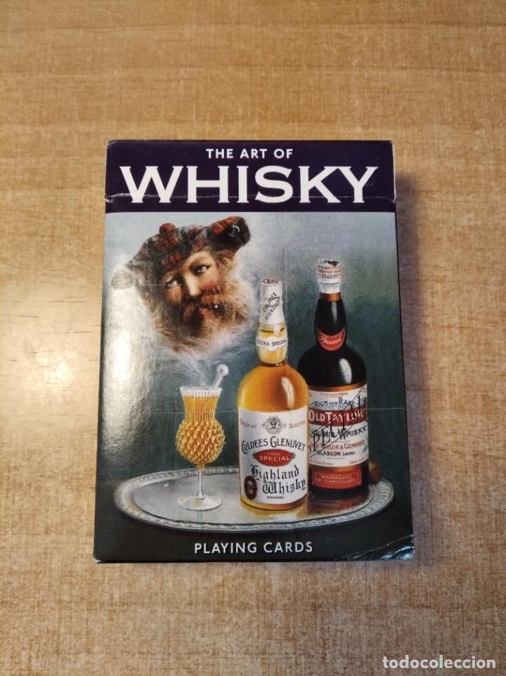 THE ART OF WHISKY. BARAJA DE POKER DE 54 CARTAS. PIATNIK. MADE IN AUSTRIA. AÑO 2.012 (Juguetes y Juegos - Cartas y Naipes - Barajas de Póker)