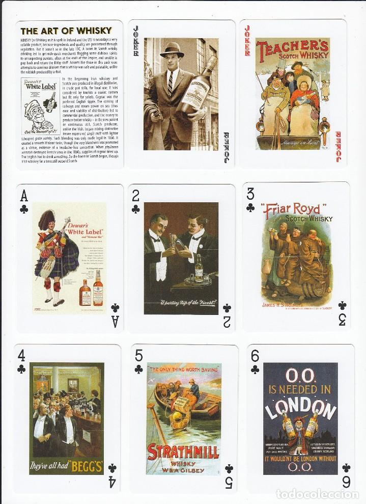 Barajas de cartas: The art of Whisky. Baraja de poker de 54 cartas. Piatnik. Made in Austria. Año 2.012 - Foto 9 - 235271500