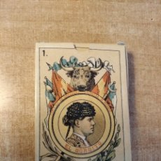 Barajas de cartas: BARAJA TAURINA. ESPAÑA., SIGLO XIX. FACSIMIL DEL AÑO 2.004. MUSEO FOURNIER. 40 CARTAS.. Lote 235277390
