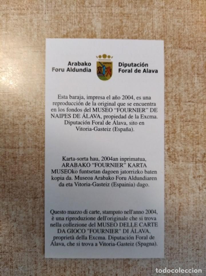 Barajas de cartas: Baraja taurina. España., siglo XIX. Facsimil del año 2.004. Museo Fournier. 40 cartas. - Foto 5 - 235277390