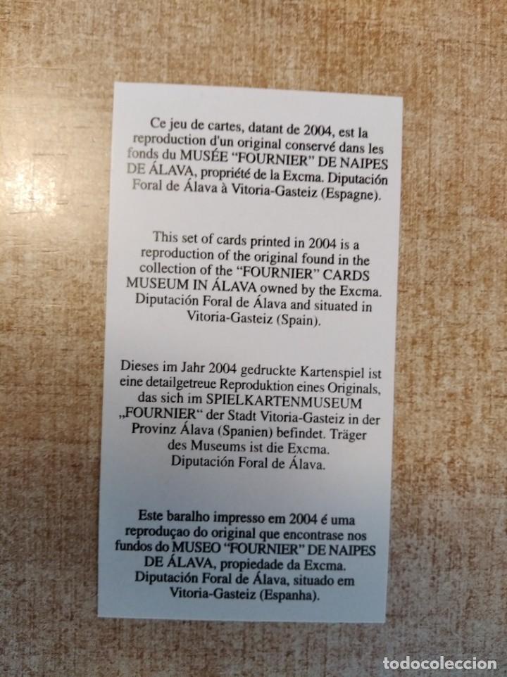 Barajas de cartas: Baraja taurina. España., siglo XIX. Facsimil del año 2.004. Museo Fournier. 40 cartas. - Foto 6 - 235277390