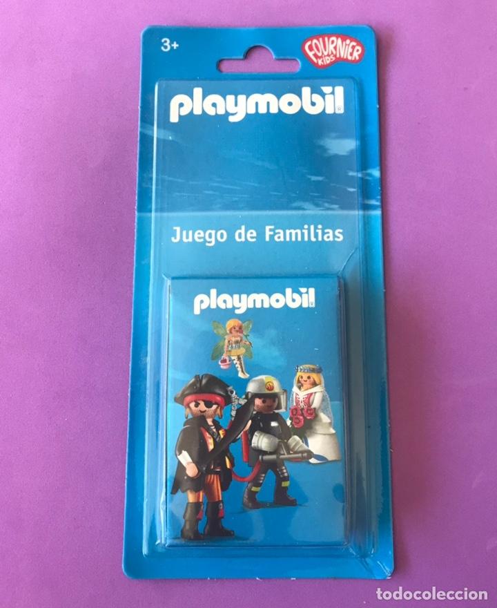PLAYMOBIL JUEGO DE FAMILIAS BARAJA CARTAS FOURNIER (Juguetes y Juegos - Cartas y Naipes - Otras Barajas)