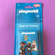 Barajas de cartas: PLAYMOBIL JUEGO DE FAMILIAS BARAJA CARTAS FOURNIER. Lote 235281765