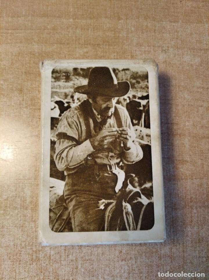 MARLBORO. TABACO.BARAJA PUBLICITARIA DE POKER DE 54 CARTAS.WESTERN PLAYING CARDS.U.S.A. AÑOS 50S. (Juguetes y Juegos - Cartas y Naipes - Barajas de Póker)