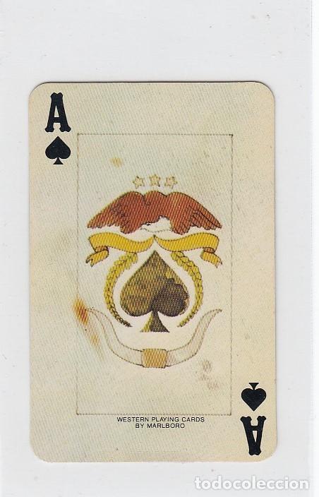 Barajas de cartas: Marlboro. Tabaco.Baraja publicitaria de poker de 54 cartas.Western Playing Cards.U.S.A. Años 50s. - Foto 6 - 235286290