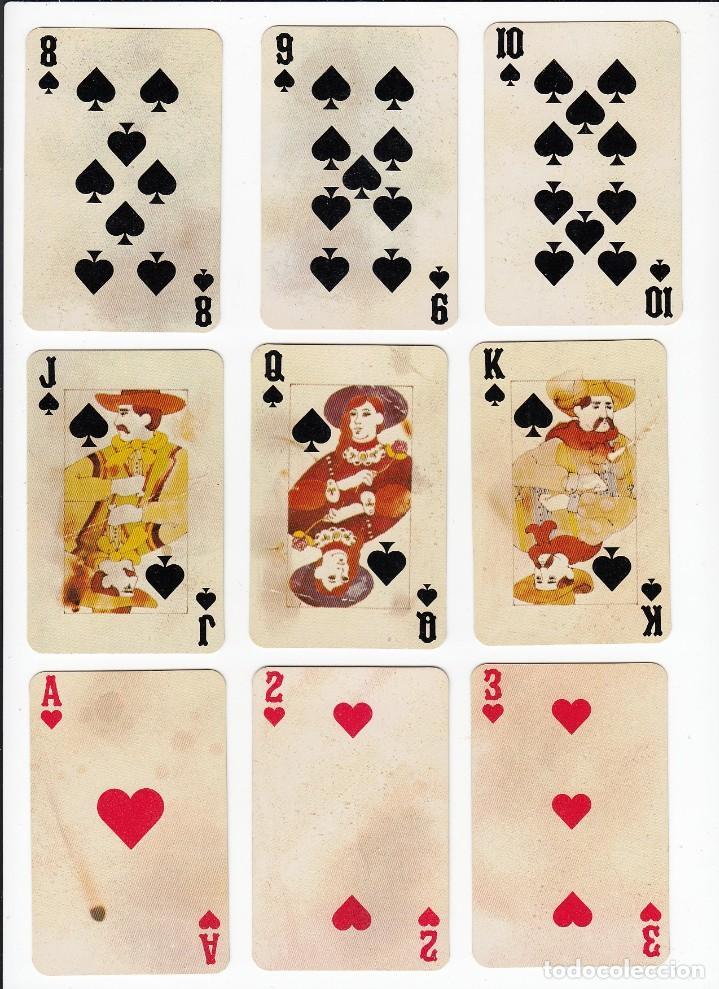 Barajas de cartas: Marlboro. Tabaco.Baraja publicitaria de poker de 54 cartas.Western Playing Cards.U.S.A. Años 50s. - Foto 9 - 235286290