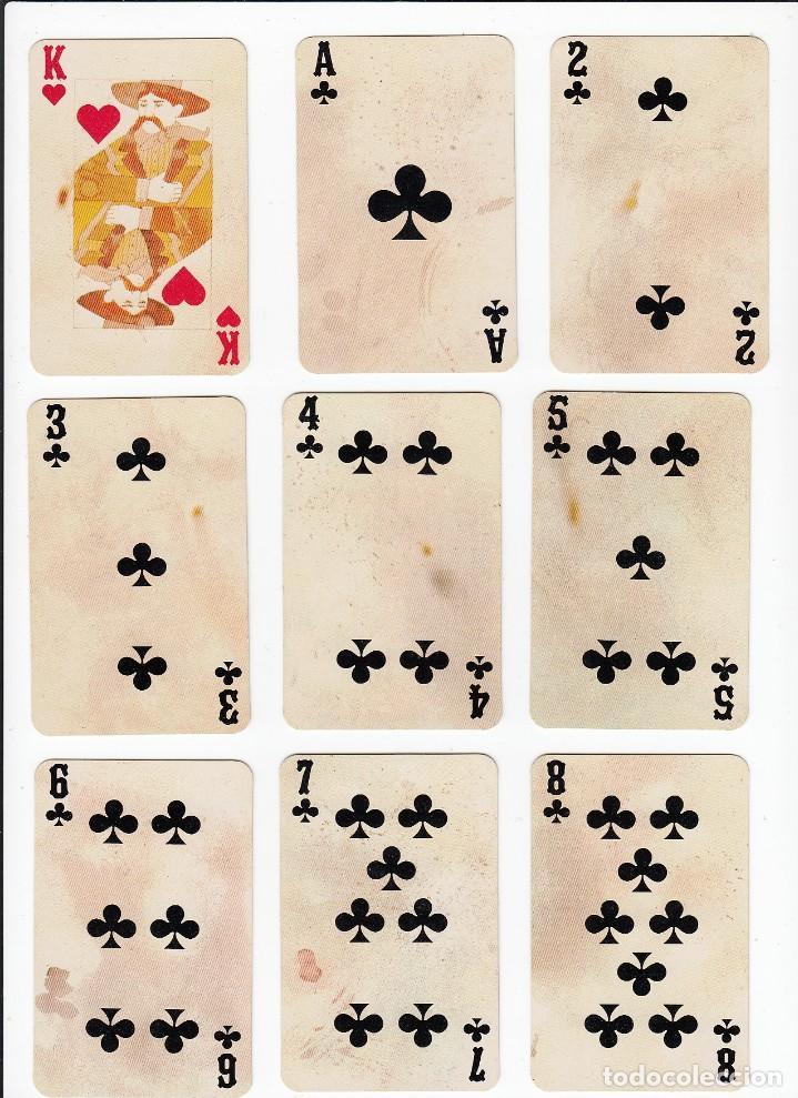 Barajas de cartas: Marlboro. Tabaco.Baraja publicitaria de poker de 54 cartas.Western Playing Cards.U.S.A. Años 50s. - Foto 11 - 235286290