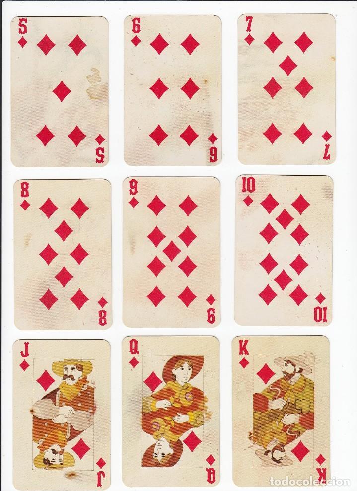 Barajas de cartas: Marlboro. Tabaco.Baraja publicitaria de poker de 54 cartas.Western Playing Cards.U.S.A. Años 50s. - Foto 13 - 235286290