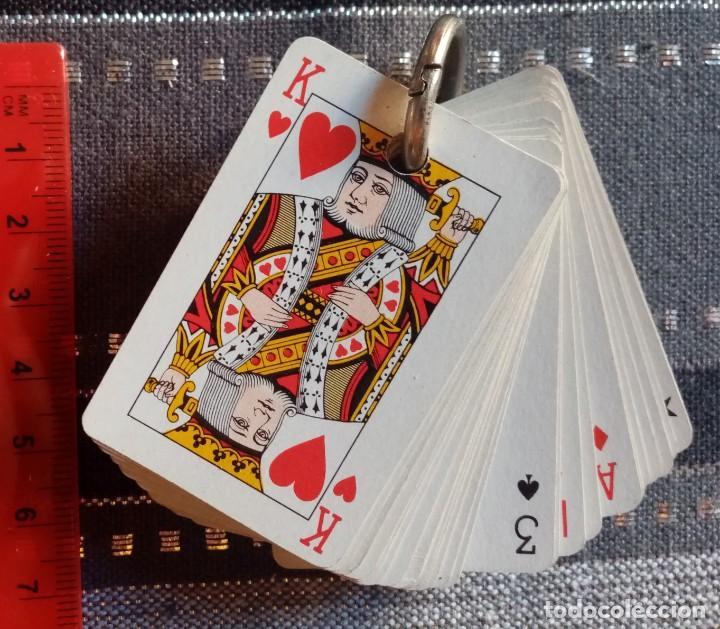 MINI BARAJA DE NAIPES - CON FUNDA Y ARO (Juguetes y Juegos - Cartas y Naipes - Barajas de Póker)