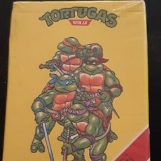 Barajas de cartas: BARAJA FOURNIER DE LAS TORTUGAS NINJA, PRECINTADA. Lote 235330855