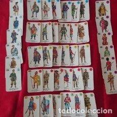 Jeux de cartes: BARAJA INFANTIL DE 1970 EL JUEGO DE LOS UNIFORMES -VINTAGE. Lote 235413665