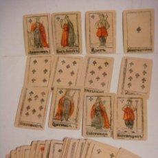 Barajas de cartas: BARAJA DE CARTAS Nº-35 BARAJA PARA PREDECIR LA FORTUNA RUSIA SIGLO XVII--( REPRODUCION ). Lote 288421508