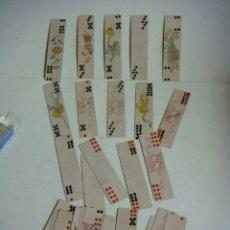 Barajas de cartas: BARAJA DE CARTAS Nº-37 BARAJA JUEGO TIENKIU CHINA SIGLO XIX--( REPRODUCION ). Lote 288421513