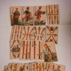 Barajas de cartas: BARAJA DE CARTAS Nº-25 BARAJA DE MIGUEL OCEJO ESPAÑA SIGLO XIX (1817-( REPRODUCION ). Lote 288421533