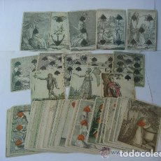 Barajas de cartas: BARAJAS DE CARTASNº-5 BARAJA DE TRANSFORMACION ALEMANIA SIGLO XIX ( 1805 )( REPRODUCION ). Lote 288421568