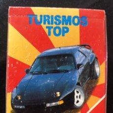 Jeux de cartes: BARAJA COCHES TURISMOS TOP DE HERACLIO FOURNIER COMPLETA AÑOS 1980-1990. Lote 235544790