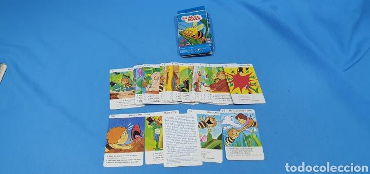 Barajas de cartas: JUEGO DE CARTAS INFANTIL - LA ABEJA MAYA - 32 CARTAS FOURNIER CON REGLAMENTO DEL JUEGO - Foto 6 - 235659745
