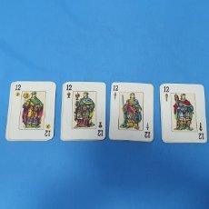 Barajas de cartas: BARAJA POKER ESPAÑOL - NAIPES COMAS - FALTA EL 3 DE OROS. Lote 235670605