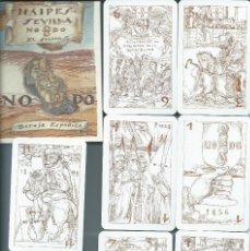Barajas de cartas: BARAJA ESPAÑOLA NAIPES DE SEVILLA NODO-AÑO 2005.-. Lote 235814705