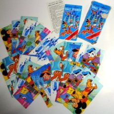 Barajas de cartas: BARAJA DOMINÓ INFANTIL ANTIGUA AÑO 1983 WALT DISNEY 28 FICHAS HERACLIO FOURNIER. Lote 235832545