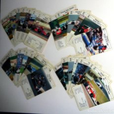 Barajas de cartas: BARAJA INFANTIL ANTIGUA AÑO 1980 - COCHES DE CARRERA - FERRARI - HERACLIO FOURNIER - INCOMPLETA. Lote 235836305