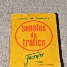 Barajas de cartas: BARAJA INFANTIL FOURNIER. SEÑALES DE TRAFICO. 55 CARTAS AÑO 1966. COMPLETA. FALTAN INSTRUCCIONES. Lote 235845840
